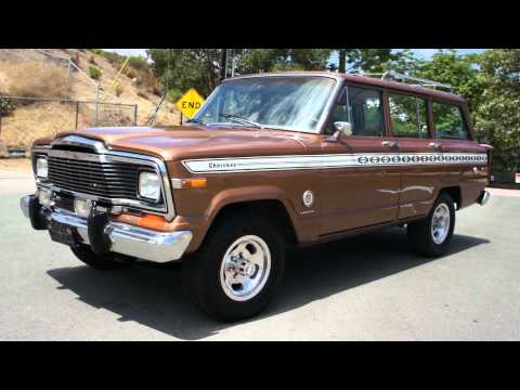 Cherokee Super Chief S 1 Owner Jeep 4×4 Grand Wagoneer