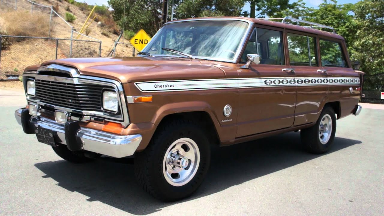 cherokee super chief s 1 owner jeep 4x4 grand wagoneer youtube. Black Bedroom Furniture Sets. Home Design Ideas