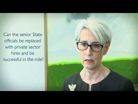 Wendy Sherman on Resignation of State Department officials