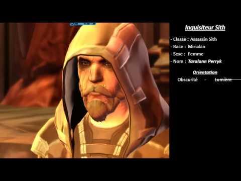 SWTOR FR (histoire de classe) - Inquisiteur Sith - Chap.1 Ep.01