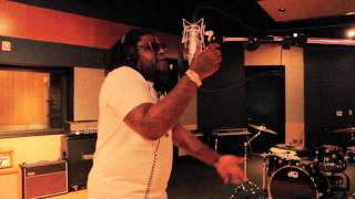 Fat Trel records verse to Clappers Remix at Full Sail University