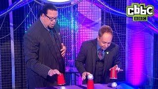 Penn and Teller Magic Trick on Blue Peter - CBBC