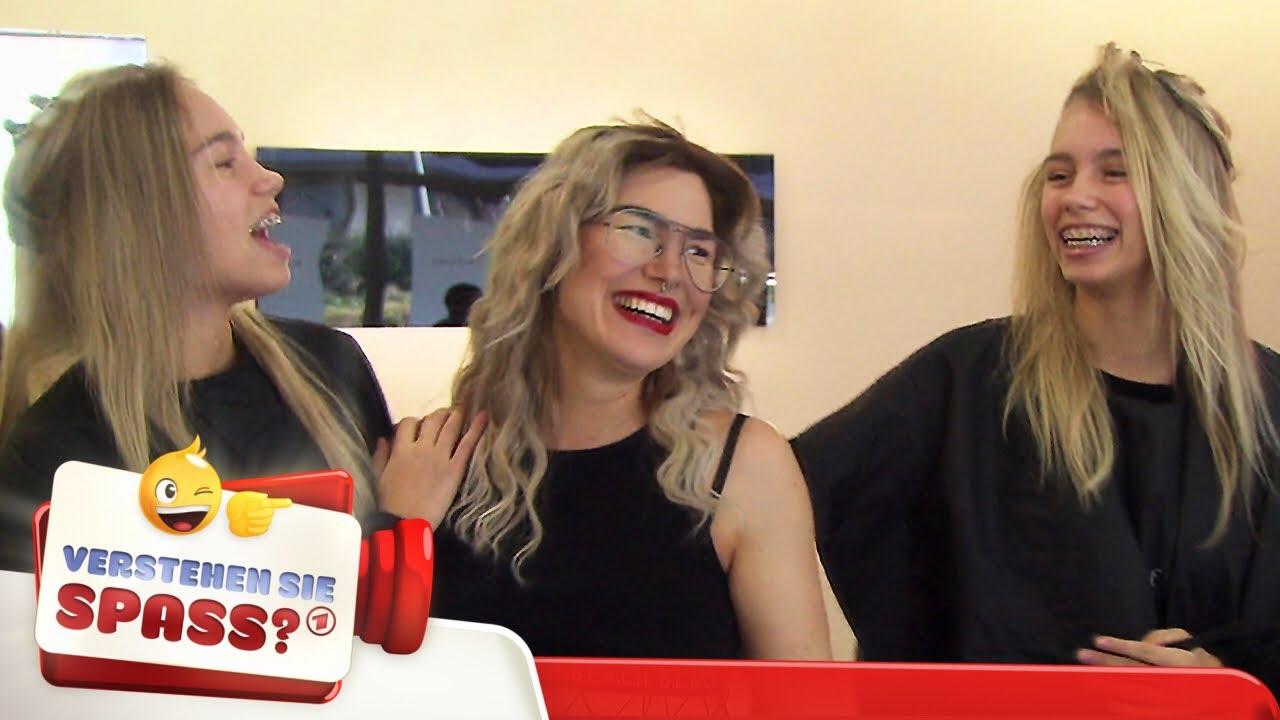 Lisa Und Lena Als Lockvogel Beim Friseur Verstehen Sie Spass Youtube