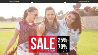 SALE is here! Enjoy up to 70% discount, visit your nearest Twenty4 ...