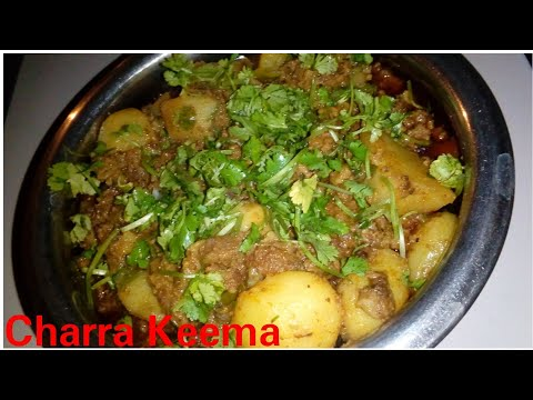 Charra keema recipe by Kitchen with Rehana