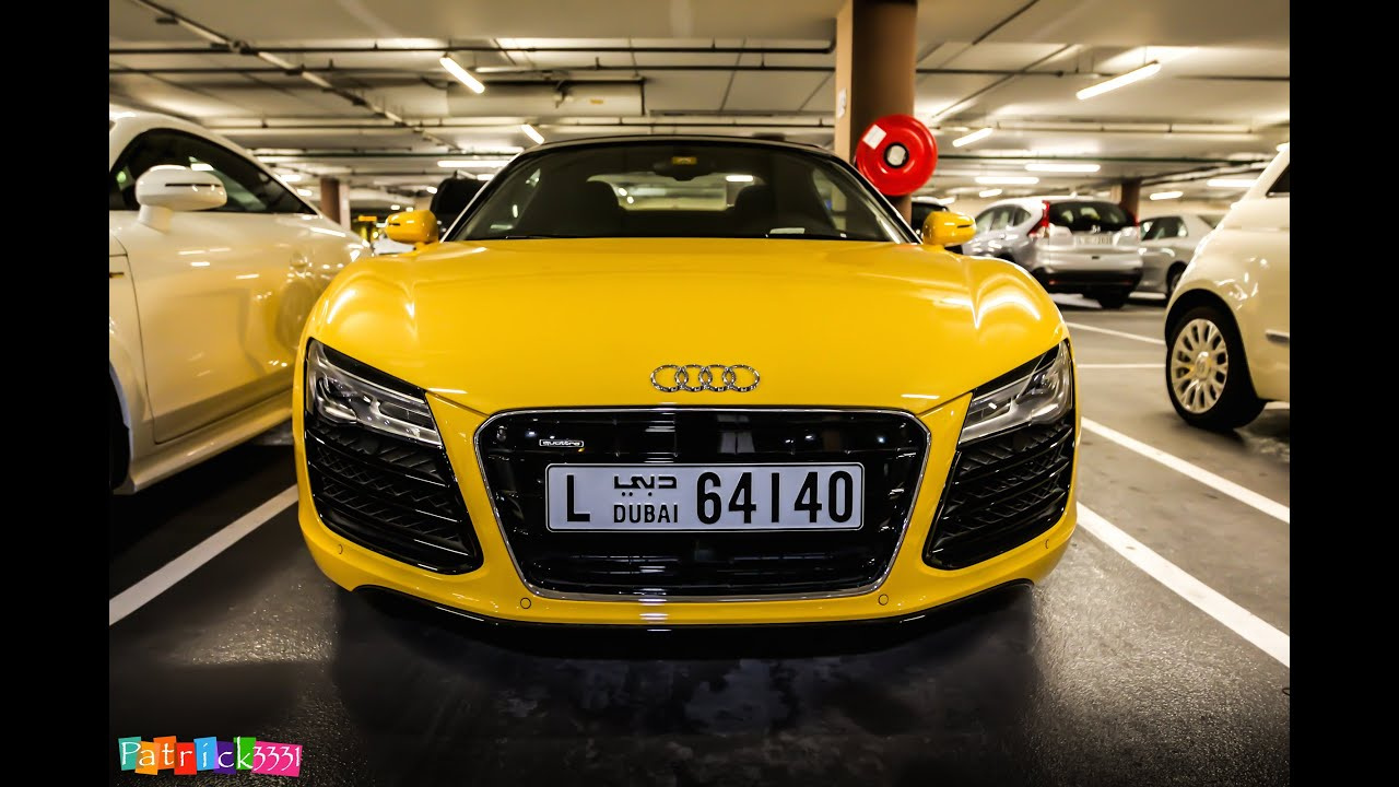 Car Paint Spray Wallpaper Yellow Audi R8 Spyder What A Beautiful Color Youtube