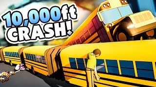 I became a bus driver and crashed a 10,000 ft bus - Snakeybus Gameplay