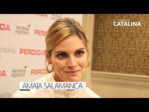 Amaia Salamanca habla de