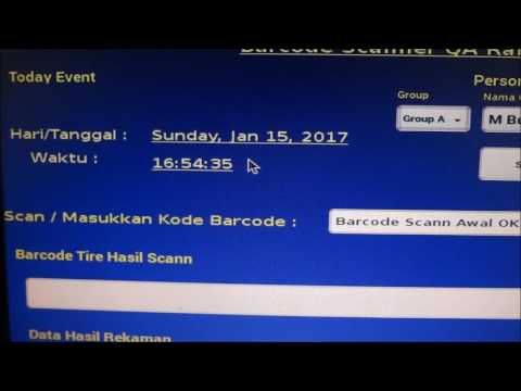 Demo Barcode Scan Interface with Raspberry Pi3