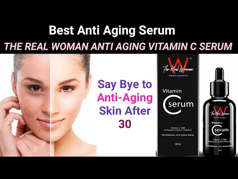 THE REAL WOMAN VITAMIN C ANTI-AGEING SERUM Review | Best in