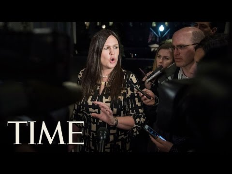 Sarah Sanders Gives Daily Press Briefing Following The Firing Of James Comey   TIME