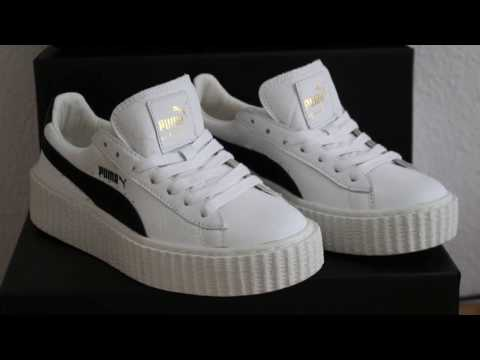 on sale 14c11 9516c Rihanna x Puma Fenty Creeper Cracked Leather Unboxing and Review