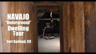 "The Original ""underground"" Tiny House? Navajo Hogan Tour"
