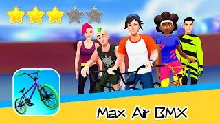 Max Air BMX Walkthrough Big flip tricks! Recommend index three stars