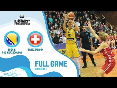 Bosnia And Herzegovina V Switzerland - Full Game - FIBA Women's EuroBasket Qualifiers 2021