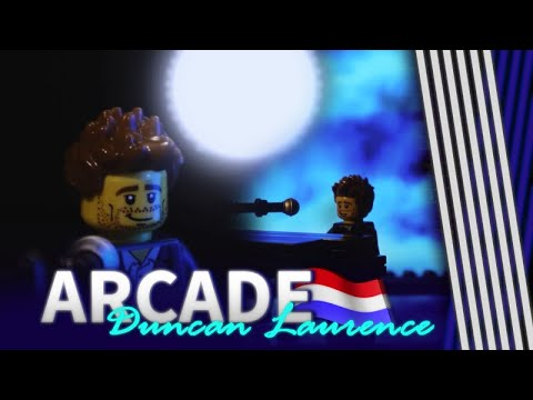 'Arcade' van Duncan Laurence in LEGO! - EUROVISION 2019