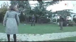 Xavi Hernandez  playing football with his sister and dad in terrassa