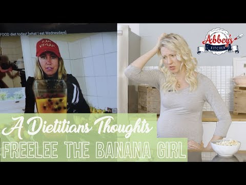 A DIETITIAN'S Thoughts on FREELEE the Banana Girl | Raw Till