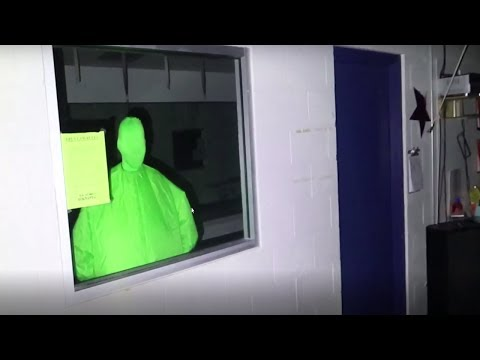 CREEPY GREEN GUY IN LUCAS AND MARCUS'S VIDEO?!?