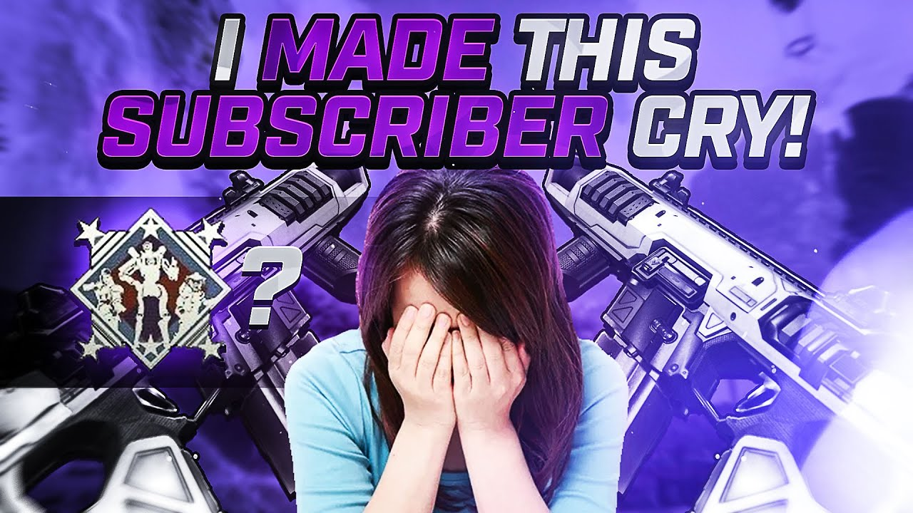 This SUBSCRIBER CRIED When I Invited Her (Apex Legends)