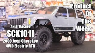 SCX10 II 2000 Jeep Cherokee 4WD RTR (AX90047) - Product Of The Week