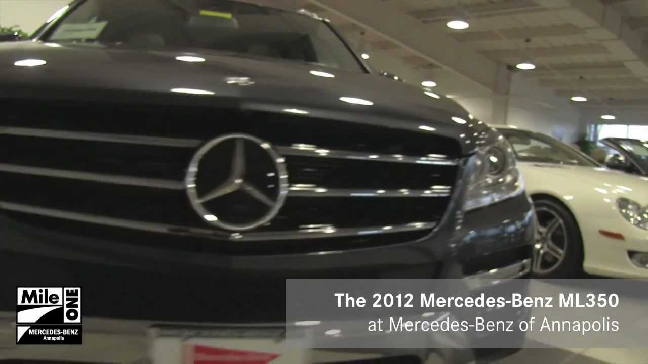 New 2012 ML350 Is At Mercedes Benz Of Annapolis, MD! | Baltimore Washington  DC Dealer