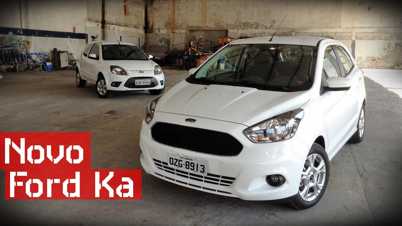 Novo Ford Ka 2015 - Teste Carsale - YouTube