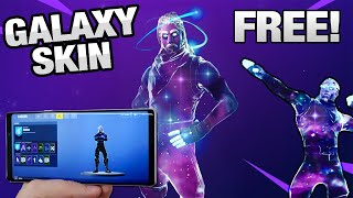 FORTNITE GALAXY S9 SKIN FOR FORNITE BATTLE ROYALE TUTORIAL