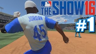 99 OVERALL MICHAEL JORDAN! | MLB The Show 16 | Diamond Dynasty #1 thumbnail