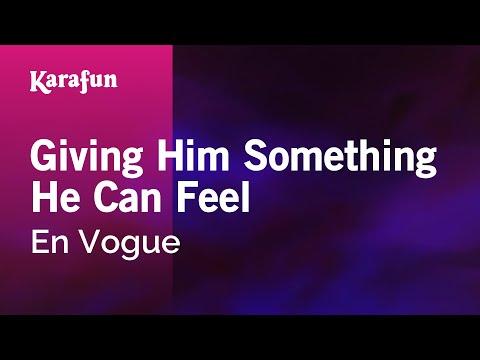 Karaoke Giving Him Something He Can Feel - En Vogue *