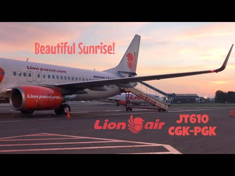 Lion Air JT610 Flight Experience | Jakarta to Bangka (Pangkal Pinang)