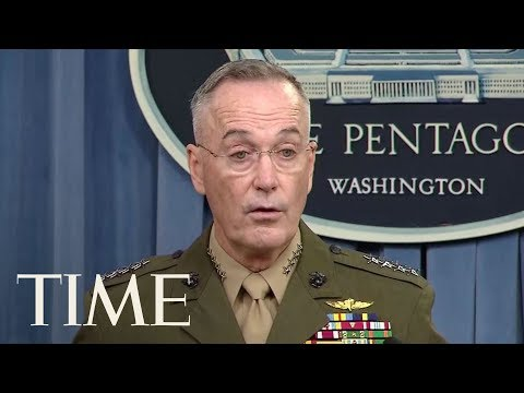 Top U.S. General Joseph Dunford Gives Few Answers On U.S. Soldiers Killed In Niger | TIME