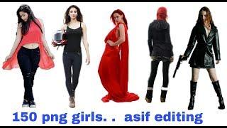 Png girles zip file download + picsart zip file materials  + new png girles