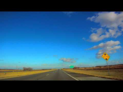 HWY 84 Lubbock to Austin - Time-Lapse Drive Across Texas