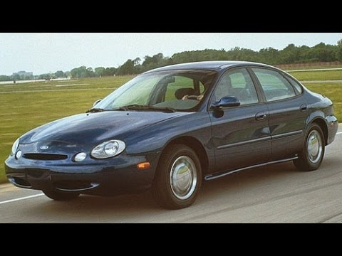 1996 Ford Taurus GL Start Up And Review 3.0 L V6