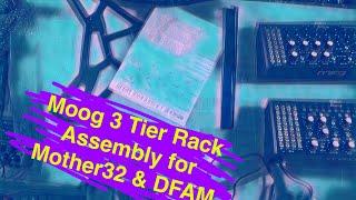 Moog 3 Tier Rack Assembly - Mother 32, DFAM, Moog Eurorack Case - Sounds Like PDM