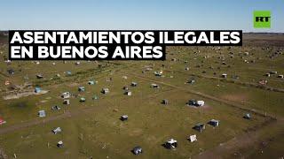 600 familias luchan por permanecer en un terreno ocupado cerca de Buenos Aires