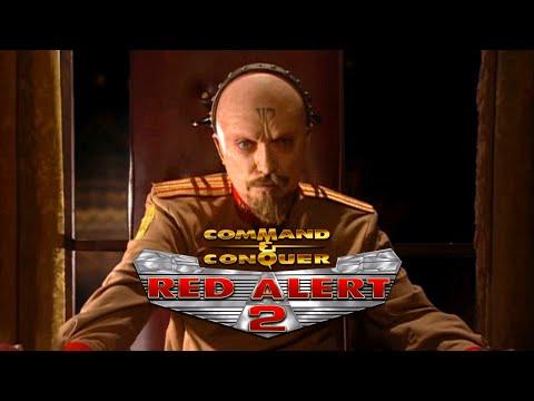 C&C Red Alert 2 + Yuri's Revenge Movie Allied Soviet Campaigns All Cutscenes