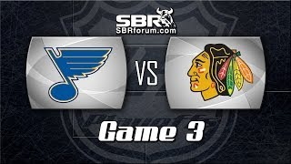 NHL Picks: St. Louis Blues vs. Chicago Blackhawks Game 4