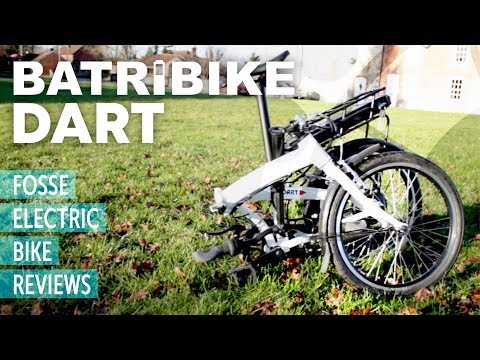 E-Bike Review: BATRIBIKE Dart - Powerful electric folding bike UK