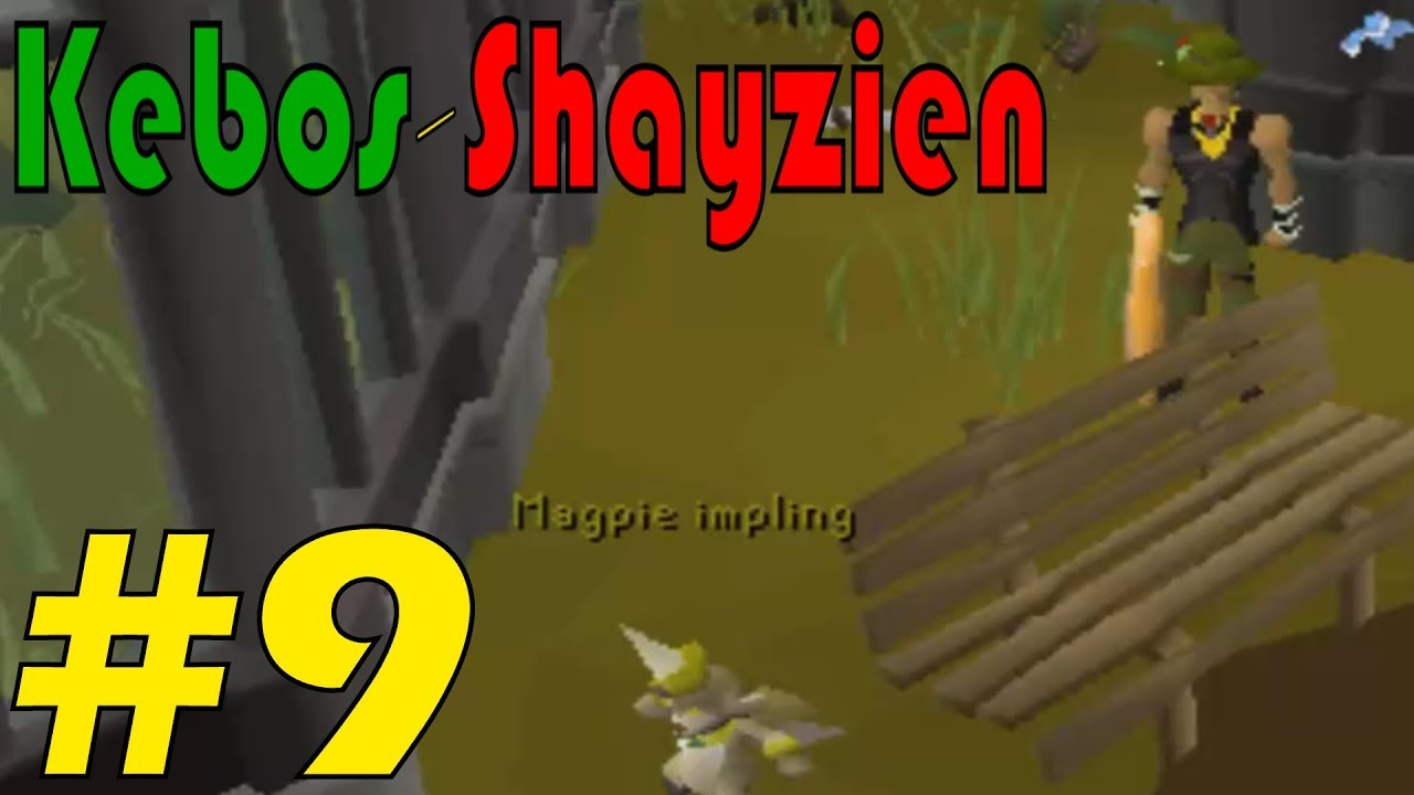 Kebos-Shayzien Locked Ironman #9 - The magpie impling
