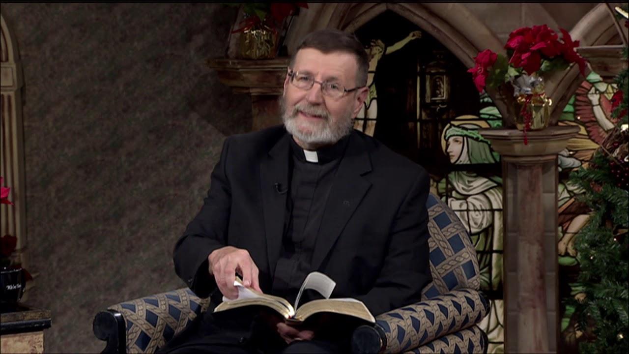 EWTN Live - 2018-12-20 - Fr  Mitch Pacwa On The Holy Land