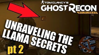 New Llama Easter Eggs! GHOST RECON WILDLANDS Best Sights and Landmarks #26