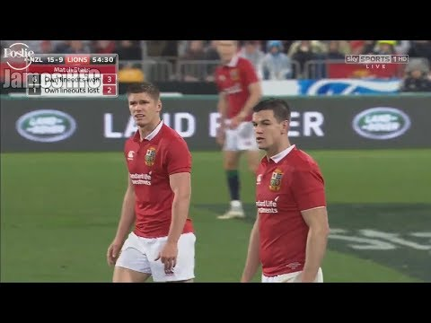 Sexton & Farrell 'Axis' Performance Test 2 All Blacks VS British & Irish Lions