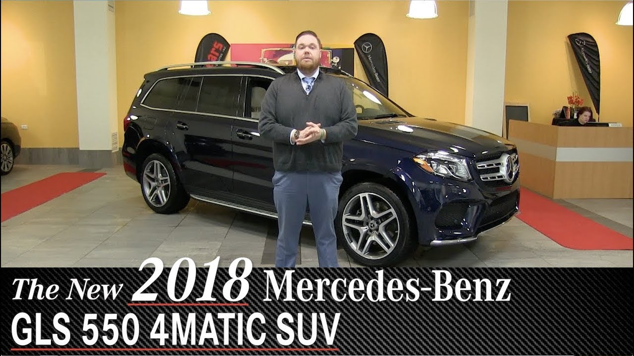 Review: New 2018 Mercedes-Benz GLS 550 SUV - Minneapolis ...