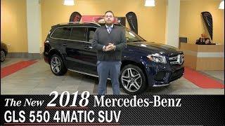 Review: New 2018 Mercedes-Benz GLS 550 SUV - Minneapolis Minnetonka Wayzata, MN