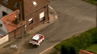 Kenotek Ypres Rally 2015 - Bouffier Crash On SS2