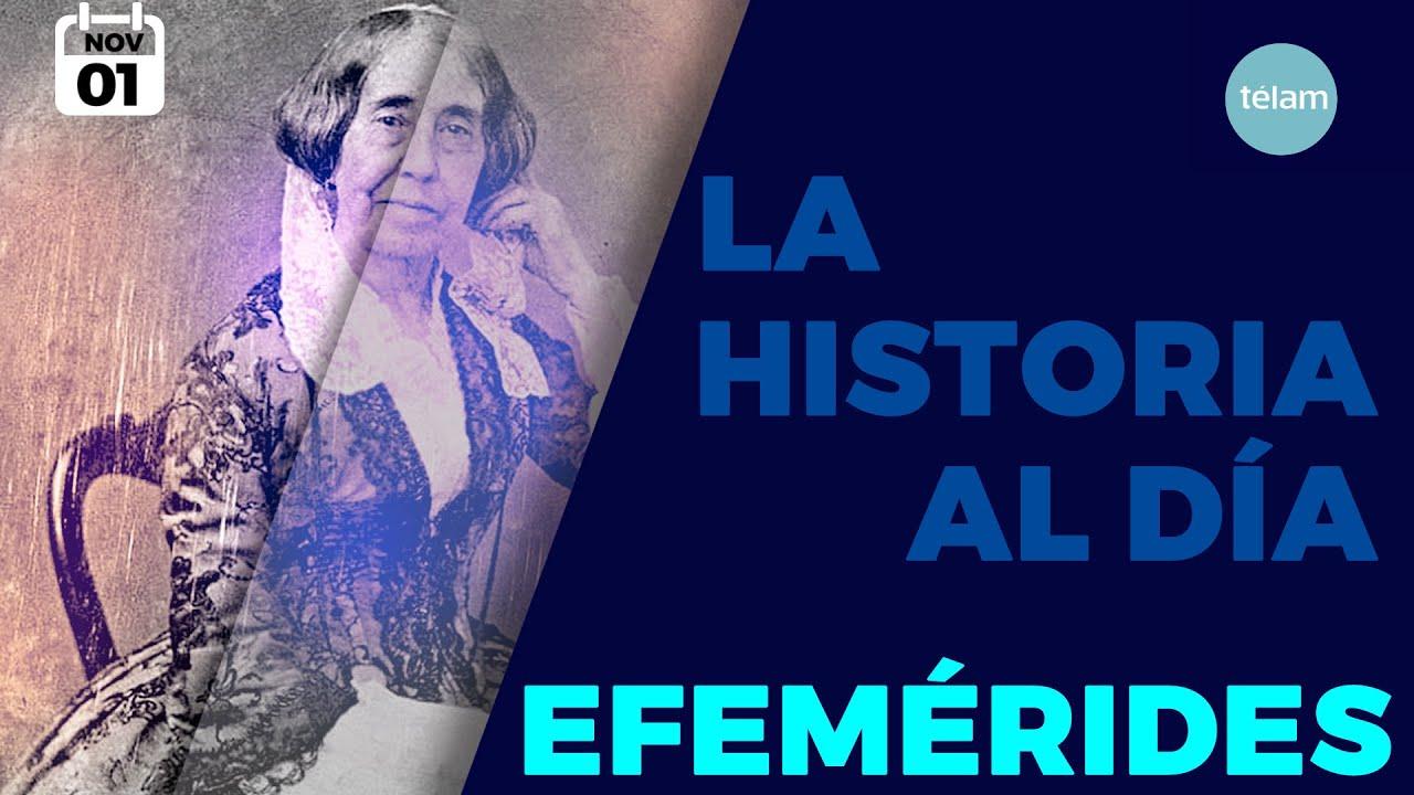 LA HISTORIA AL DÍA (EFEMÉRIDES 1 NOVIEMBRE)