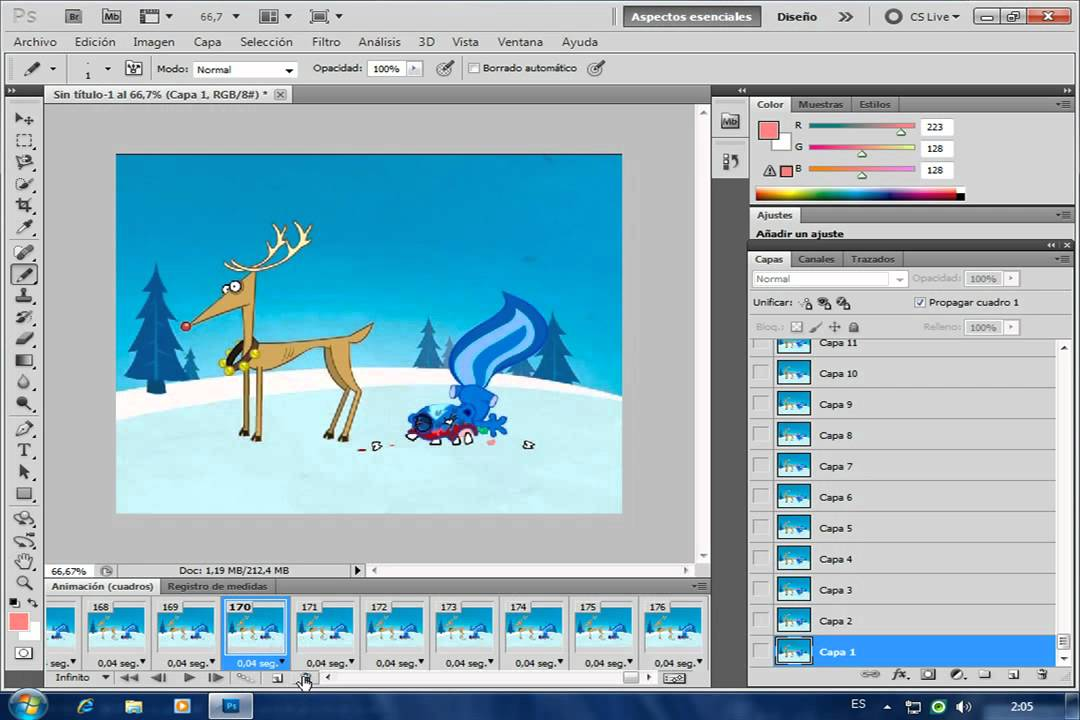 how to add text to gifs photoshop cs6