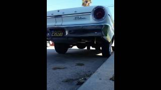 1964 Ford Fairlane 200 ci inline 6 exhaust